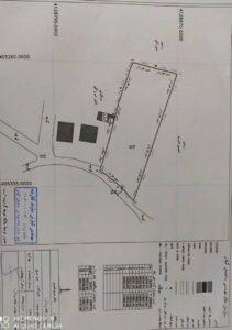 فروش یک قطعه زمین روستایی ۲۰۴۶ متری